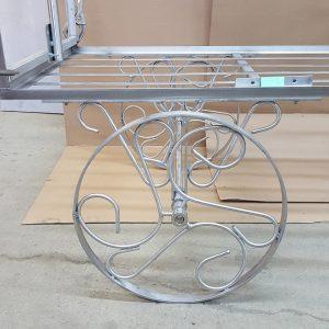 Ornate Wagon Wheel