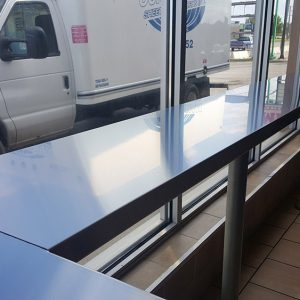 Commercial Stainless Counter