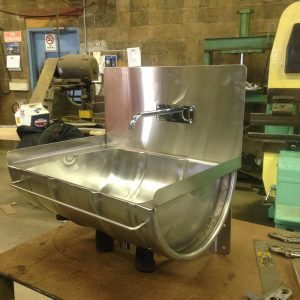 Stainless Barrel Sink